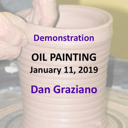 Demonstration with Graziano - OIL PAINTING