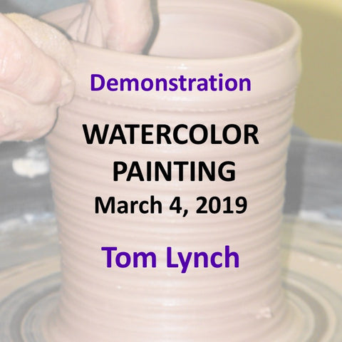 Demonstration with Lynch - WATERCOLOR PAINTING