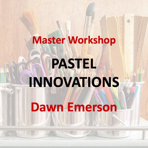Master Workshop with Emerson - PASTEL INNOVATIONS