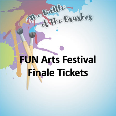 FUN Arts Festival TICKETS - Battle of the Brushes