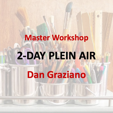 Master Workshop with Graziano - PLEIN AIR PAINTING