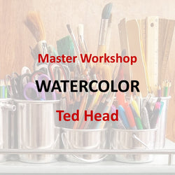 Master Workshop with Head - WATERCOLOR