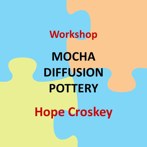 Workshop with Croskey - MOCHA DIFFUSION DECORATION TECHNIQUE