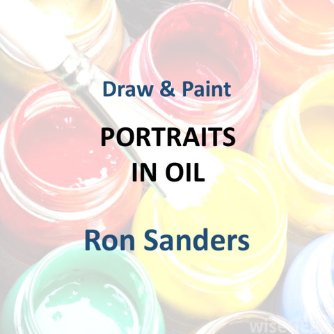 Draw & Paint with Sanders - PORTRAITS IN OILS
