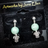 Earrings by June Ellen Pearce