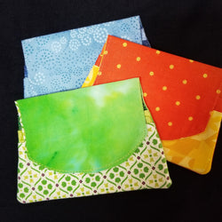 Fabric Art Billfold by Gail LaGro