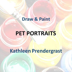 Draw & Paint with Prendergrast - PET PORTRAITS