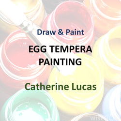 Draw & Paint with Lucas - EGG TEMPERA PAINTING