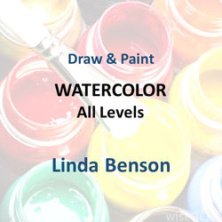 Draw & Paint with Benson - WATERCOLOR (All Levels)