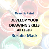 Draw & Paint with Mack - DEVELOP YOUR DRAWING SKILLS (All Levels)