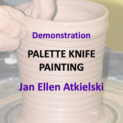 Demonstration with Atkielski - PALETTE KNIFE PAINTING
