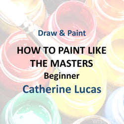 Draw & Paint with Lucas - HOW TO PAINT LIKE THE MASTERS (Beginner)