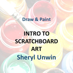 Draw & Paint with Unwin -  SCRATCHBOARD ART