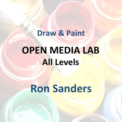 Draw & Paint with Sanders - OPEN MEDIA LAB (All Levels)