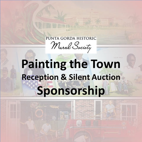 Mural Society Paint the Town Reception SPONSORSHIP
