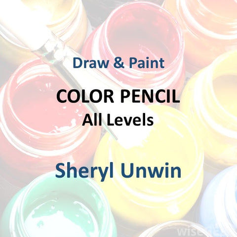 Draw & Paint with Unwin - COLORED PENCILS