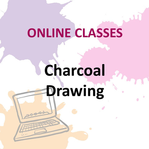 Online Class - CHARCOAL DRAWING with Robert Pavon (All Levels)