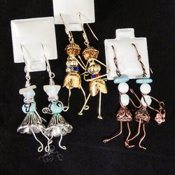 Earrings by Dianne Brooks