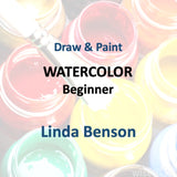 Draw & Paint with Benson - WATERCOLOR (BEGINNER)