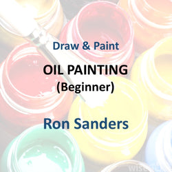 Draw & Paint with Sanders - OIL PAINTING (Beginner)