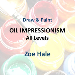 Draw & Paint with Hale - OIL IMPRESSIONISM (All Levels)