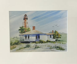 Paintings by Jim Beach in Watercolor (Matted)