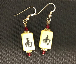 Jewelry, Earrings, Mahjong by Diana Reinhard