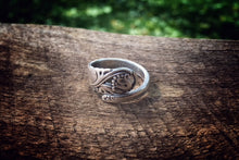 Spring Glory Demi Sterling Spoon Ring