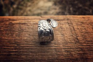 The Buffalo Herdsman Sterling Spoon Ring