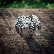 The Aryan Princess Sterling Spoon Ring