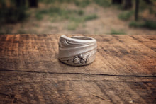 The Thick Floral Spoon Ring (Size 6)