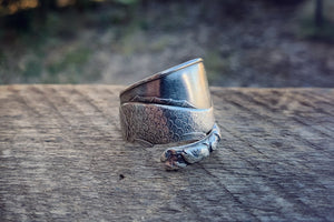 The Big Cod Sterling Spoon Ring