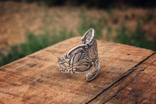 1901 Indian Chief Sterling Spoon Ring