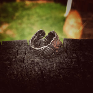 The Fair Maiden Sterling Spoon Ring