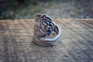 The Big Caboose Sterling Spoon Ring (Extremely Rare)