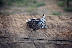 Kentucky Sterling Spoon Ring