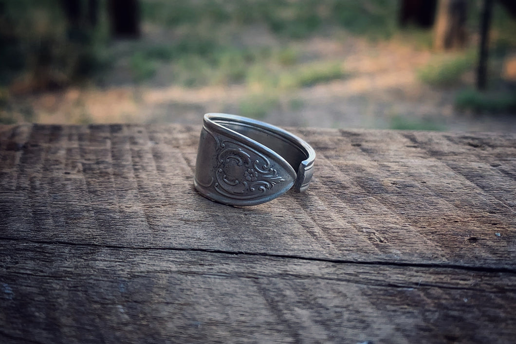 The Courageous Spoon Ring (Size 9)