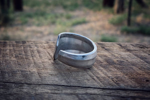 The Geo Spoon Ring (Size 9)