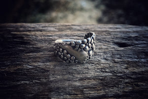 1893 Forget-Me-Not Demitasse Sterling Spoon Ring
