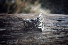 Shephard Morning Glory Sterling Spoon Ring