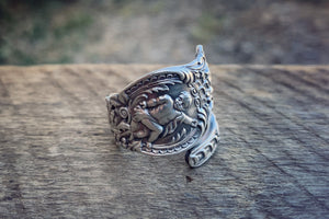 King Julian Sterling Spoon Ring