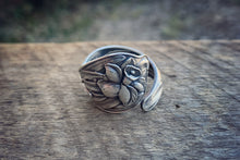 A Letter to Jonquil Sterling Spoon Ring