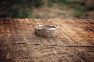 King Christian Sterling Spoon Ring
