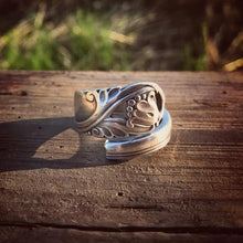 Spring Glory Statement Sterling Spoon Ring