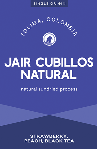 Jair Cubillos Natural - Tolima, Colombia