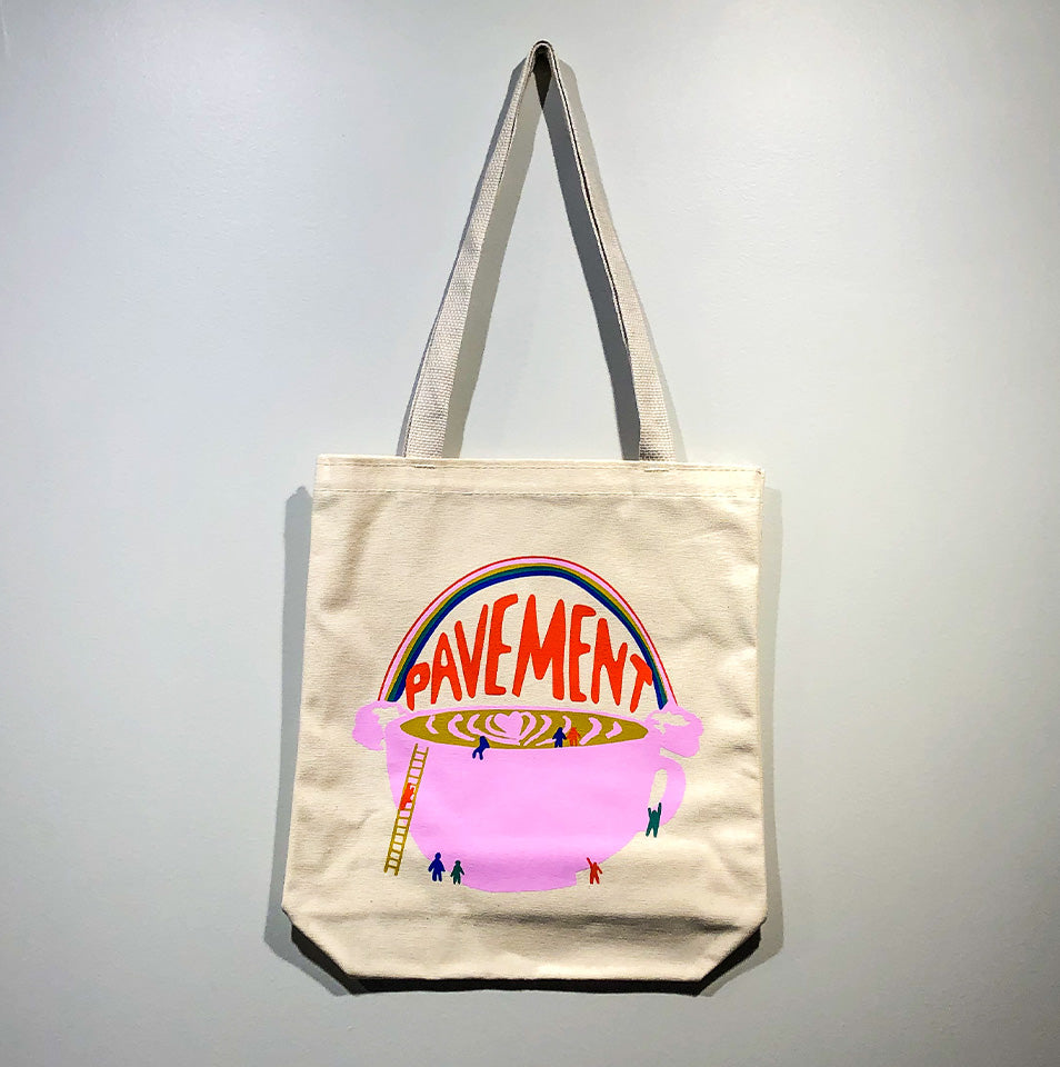 Pavement Rainbow Tote Bag