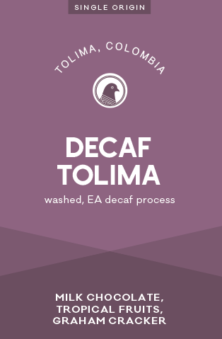 Decaf Coffee - Tolima, Colombia