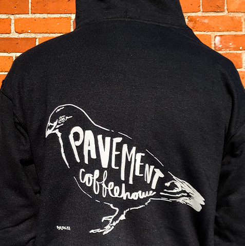 Boston Cafe retail hoodie