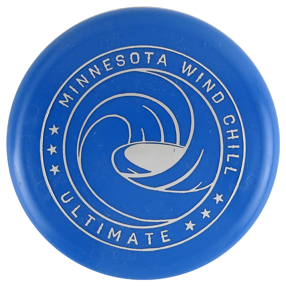 AUDL Pro Ultimate Minnesota Wind Chill Logo Inter-Locking Mini Marker Disc