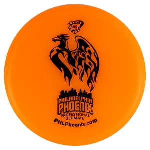 AUDL Pro Ultimate Philadelphia Phoenix Logo Inter-Locking Mini Marker Disc